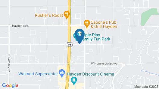 Triple Play Resort Hotel & Suites Map