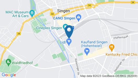 Hegau Tower Hotel Map