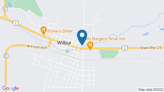 The Willows Motel Map