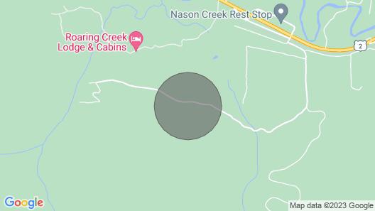 Hot Tub Cool Views: Roaring Creek Cabin Map