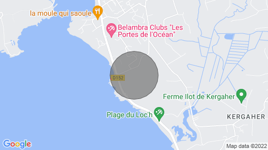 Guidel Plages: Mobile home - Guidel plage Map
