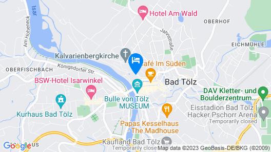 Hotel Kolbergarten Map
