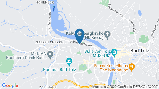 Hotel Alexandra Map