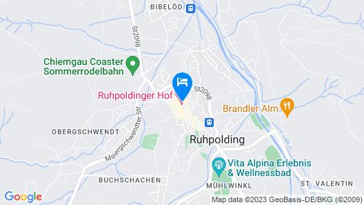 Hotel Zur Post Map
