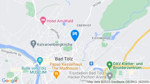 Ferienwohnung Royal Map
