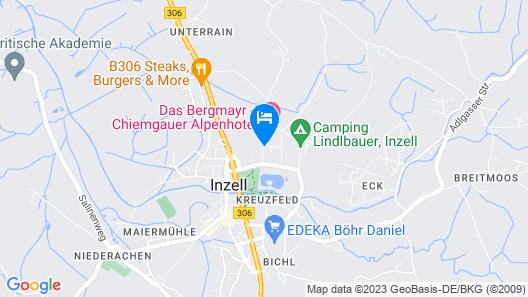 Chiemgau Appartements Map