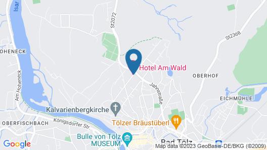 Hotel am Wald Map