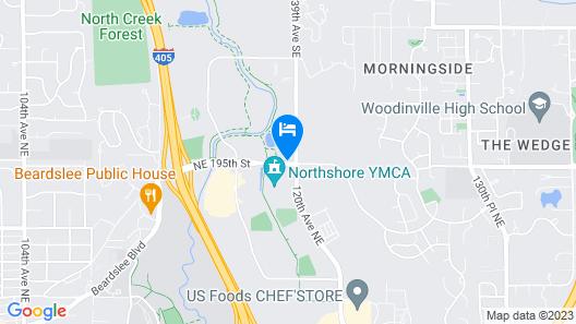 Residence Inn by Marriott Seattle Northeast-Bothell Map