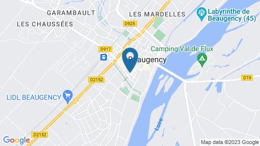 Hôtel La Licorne Map