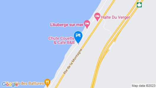 Gîte Chute Couette & Café Map
