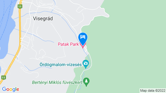 Patak Park Hotel Map