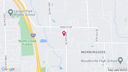 Holiday Inn & Suites Bothell, an IHG Hotel Map