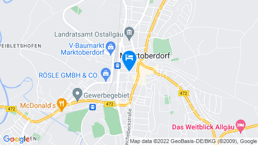 Hotel Greinwald Map