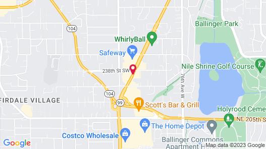 Travelodge by Wyndham Seattle North/Edmonds Map