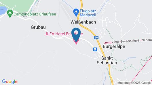 JUFA Hotel Erlaufsee Map