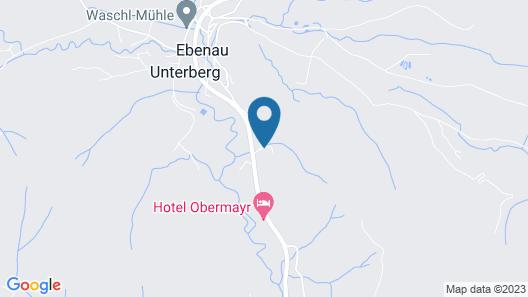 Hotel Obermayr Map