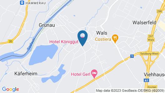 Hotel Königgut Map