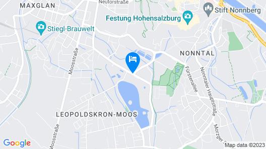 Hotel Schloss Leopoldskron Map