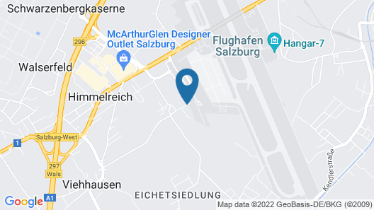 Airporthotel Salzburg Map