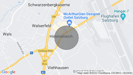 Small House With Garden Near the City of Salzburg Map