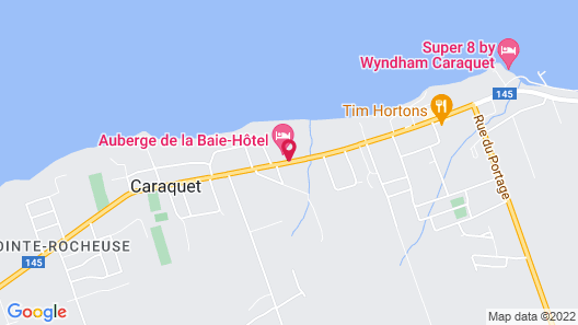 Auberge de la Baie Map
