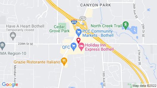 Comfort Inn & Suites Bothell - Seattle North Map