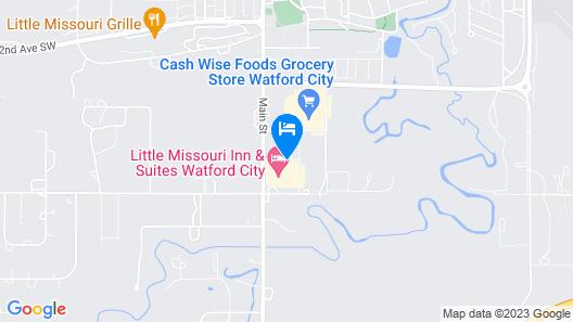 Little Missouri Inn & Suites Map
