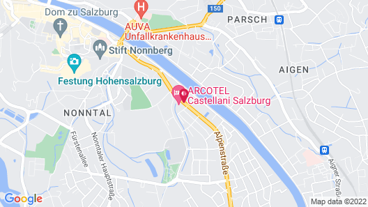 ARCOTEL Castellani Salzburg Map