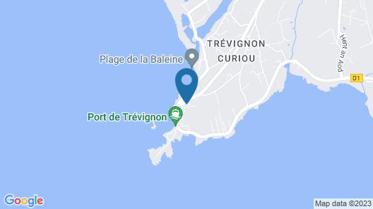 Ref 704 - Beautiful Villa Close to the Port of Trévignon Map