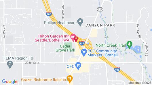 Hilton Garden Inn Seattle Bothell Map