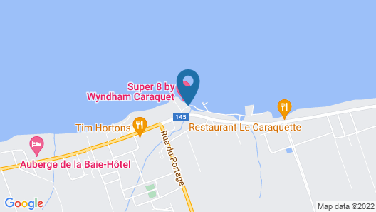 Super 8 by Wyndham Caraquet Map