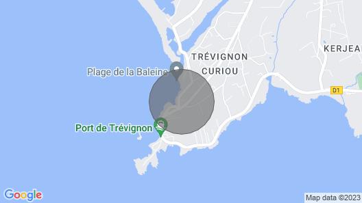 Villa des Embruns Face à la mer Plongez en Vacances Map