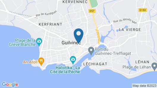 Guilvinec Parc Résidence Map