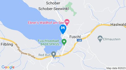Landhotel Schützenhof Map