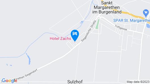 Hotel Zachs Map