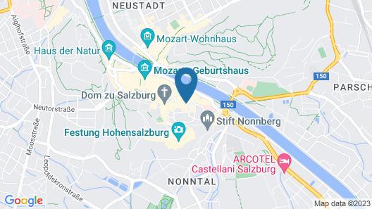 Altstadthotel Weisse Taube Map