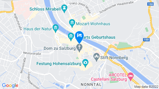 Small Luxury Hotel Goldgasse Map