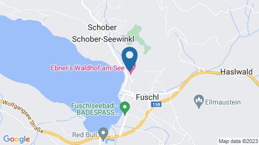 Hotel & Spa Ebner's Waldhof am See Map