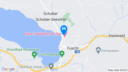 Hotel & Spa Ebner's Waldhof am See Map