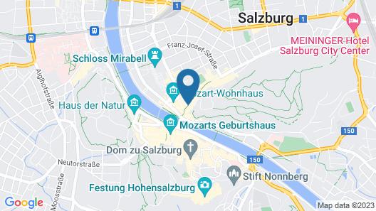 Star Inn Hotel Premium Salzburg Gablerbräu Map