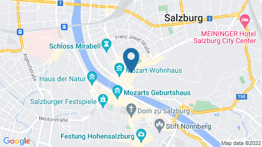 Hotel Schwarzes Rössl Map