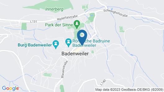 Luisenstuben Map
