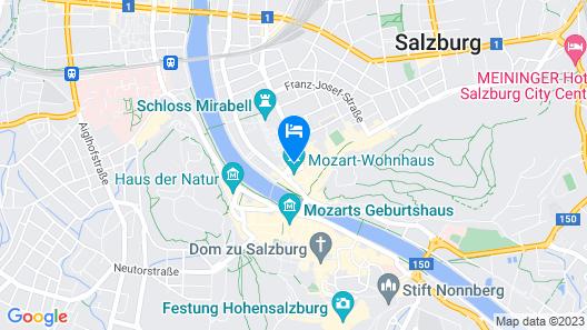 Bristol Hotel Salzburg Map