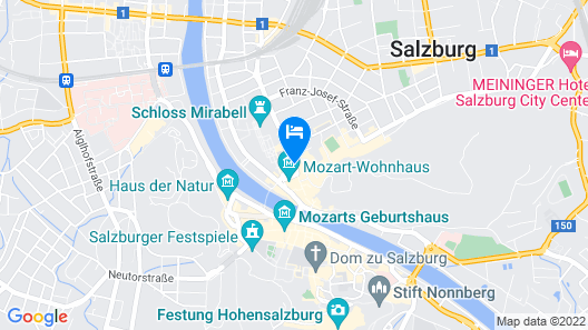 Gästehaus im Priesterseminar Salzburg Map
