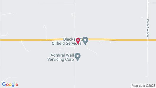 The Dakotan Motel Map