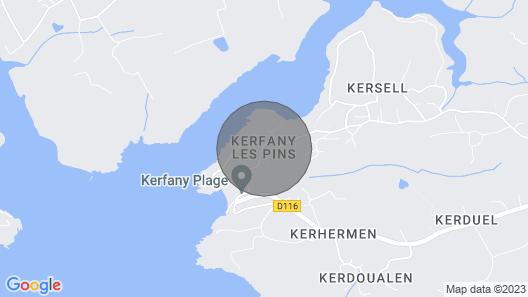 Kerty Dor N°1, Plage de Kerfany Map