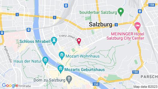 NH Salzburg City Map