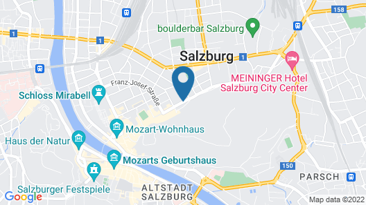 Goldenes Theaterhotel Map