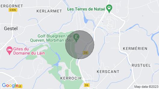 Residence Domaine de Val, Quéven Map