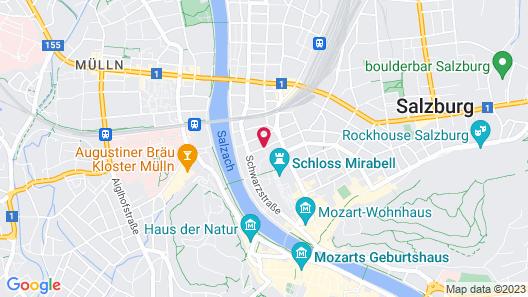 Sheraton Grand Salzburg Map